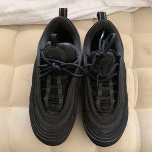 san francisco f0f21 a3623 Nike Air VaporMax 97 Triple Black (GS)